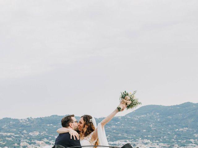 Il matrimonio di Paolo e Francesca a Vico Equense, Napoli 29