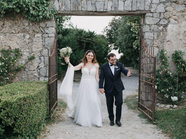 Il matrimonio di Paolo e Francesca a Vico Equense, Napoli 33