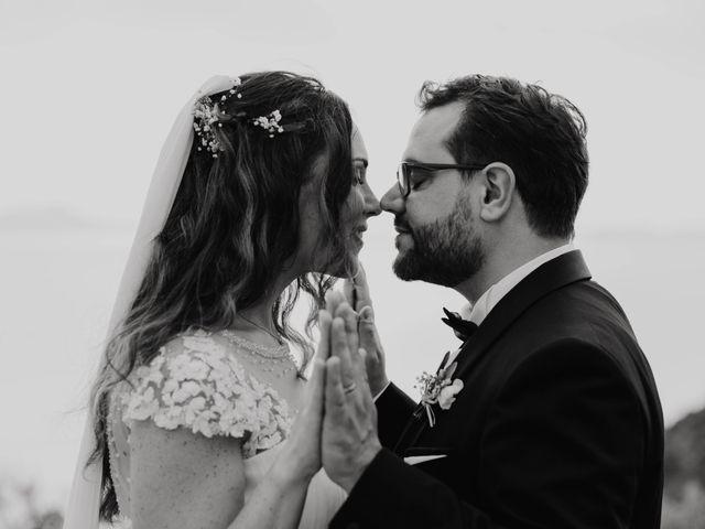 Il matrimonio di Paolo e Francesca a Vico Equense, Napoli 43