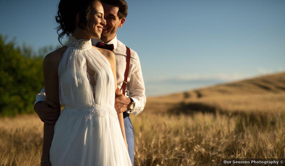 Il matrimonio di Davide e Federica a Pienza, Siena