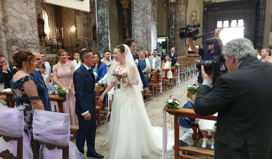 Il matrimonio di Vincenzo e Marta a Legnano, Milano