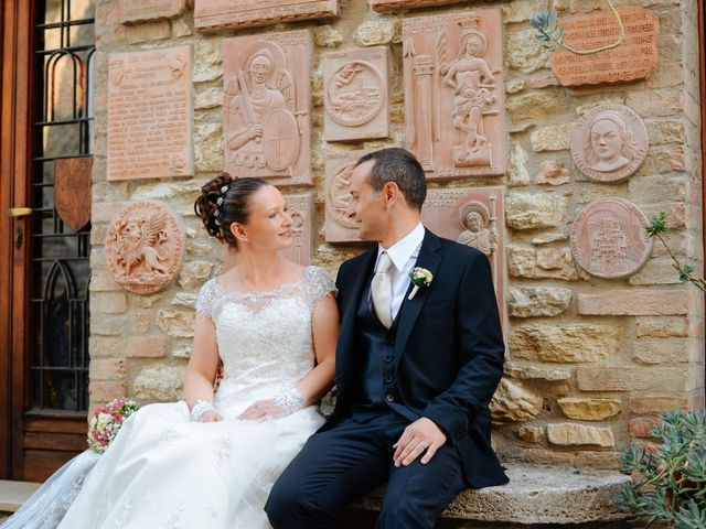 Le nozze di Oksana e Luca