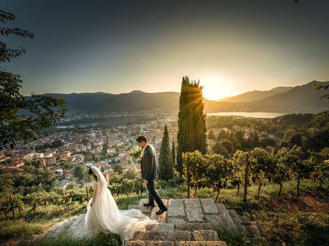 Il matrimonio di Dante e Valentina a Calolziocorte, Lecco 36