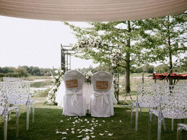 Il matrimonio di Thomas e Juliana a Castrezzato, Brescia 2