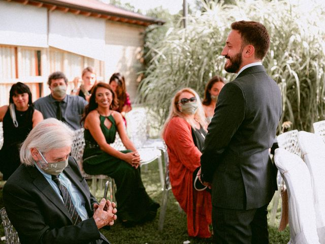 Il matrimonio di Thomas e Juliana a Castrezzato, Brescia 35