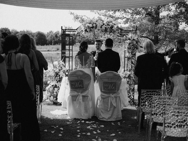 Il matrimonio di Thomas e Juliana a Castrezzato, Brescia 51