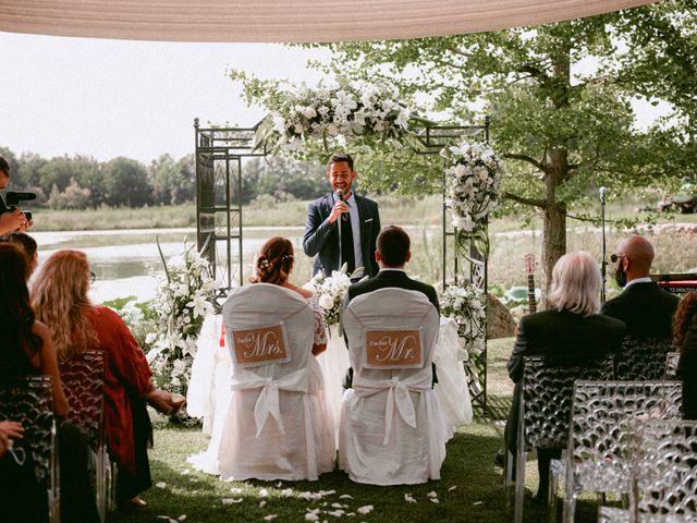 Il matrimonio di Thomas e Juliana a Castrezzato, Brescia 58
