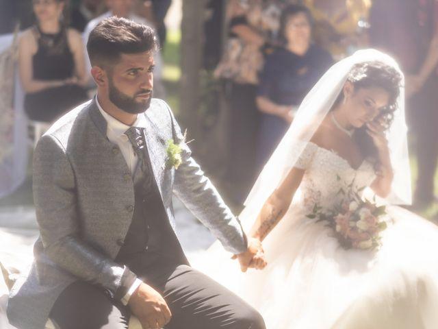 Il matrimonio di Marwan e Natascia a Tivoli, Roma 25