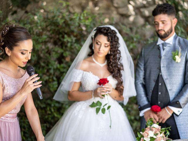 Il matrimonio di Marwan e Natascia a Tivoli, Roma 27
