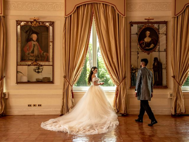 Il matrimonio di Marwan e Natascia a Tivoli, Roma 38