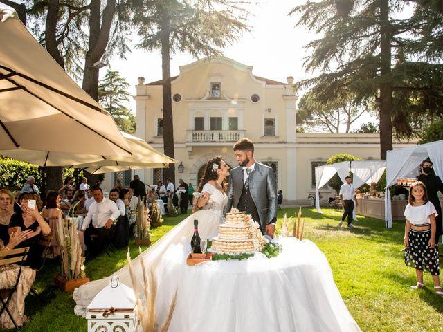 Il matrimonio di Marwan e Natascia a Tivoli, Roma 47