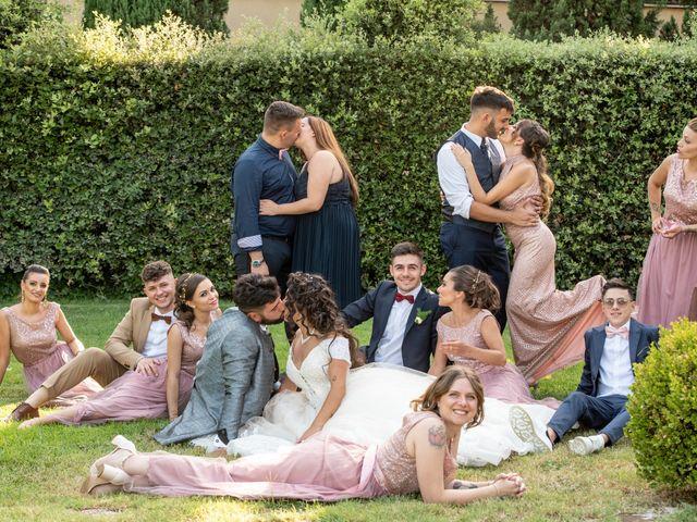 Il matrimonio di Marwan e Natascia a Tivoli, Roma 48
