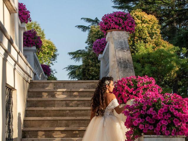 Il matrimonio di Marwan e Natascia a Tivoli, Roma 54