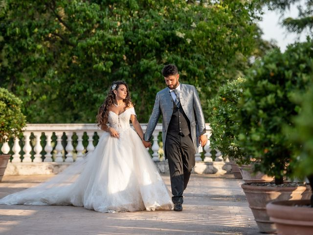 Il matrimonio di Marwan e Natascia a Tivoli, Roma 57