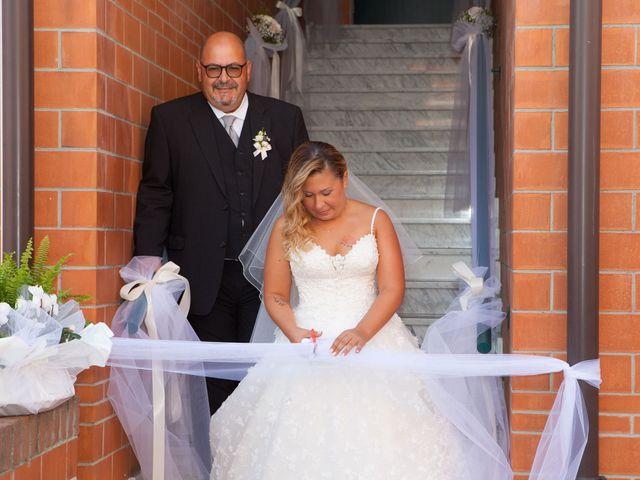 Il matrimonio di Floriana e Stefano a Garlasco, Pavia 7