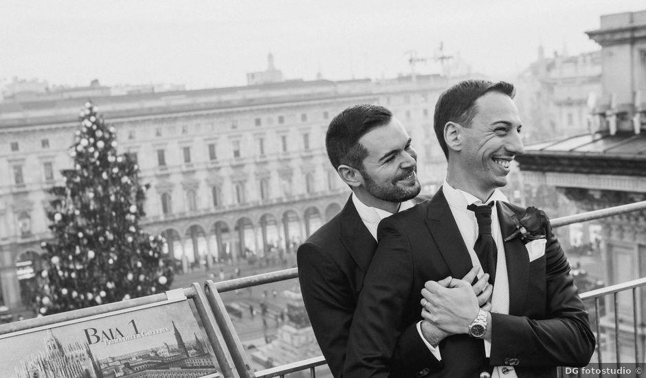 Il matrimonio di Alessio e Massimo a Milano, Milano