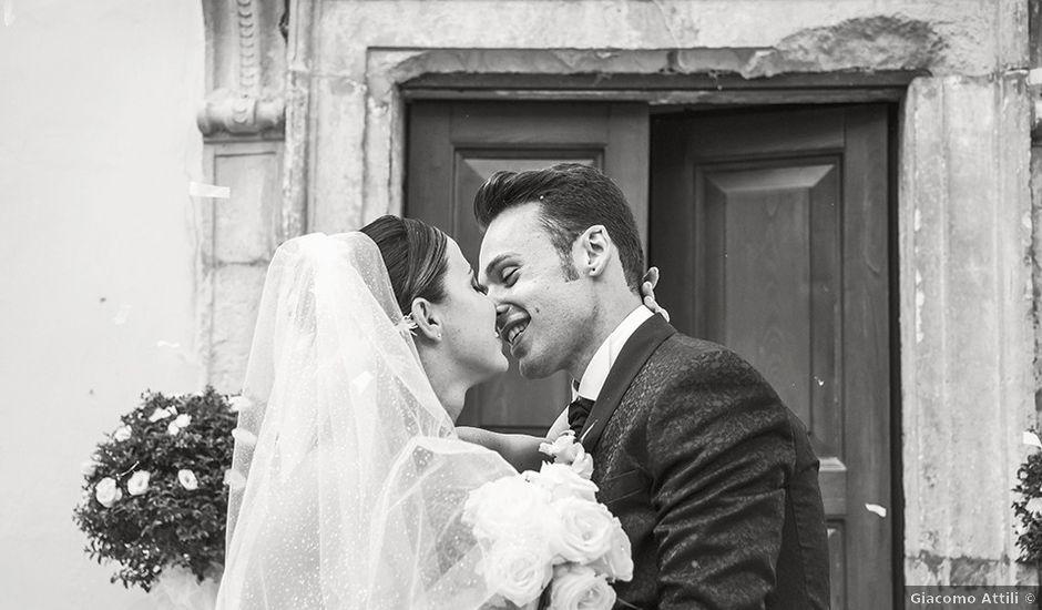 Il matrimonio di Roberto e Marta a Serrapetrona, Macerata