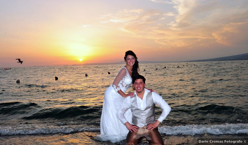 Il matrimonio di Giuseppe e Anna a Torre del Greco, Napoli