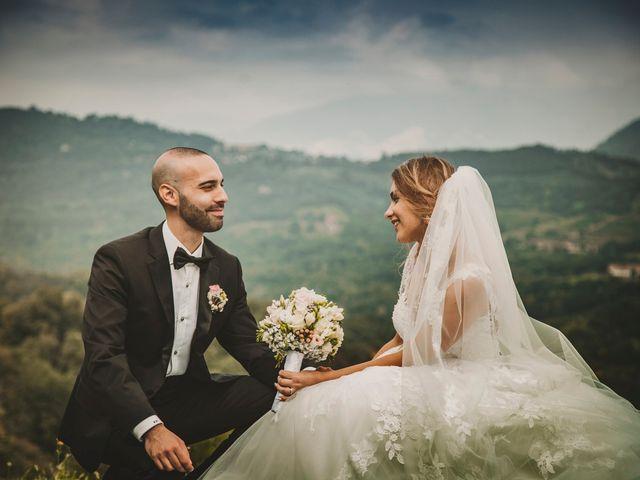 le nozze di Marina e Simone