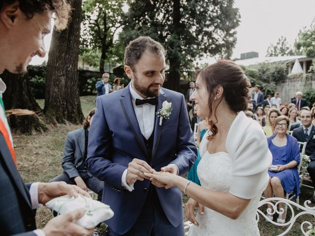 Il matrimonio di Luca e Jessica a Tradate, Varese 42