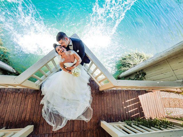 Le nozze di Ornela e Alessio