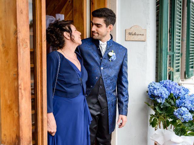 Il matrimonio di Francesco e Victoria a San Gimignano, Siena 21