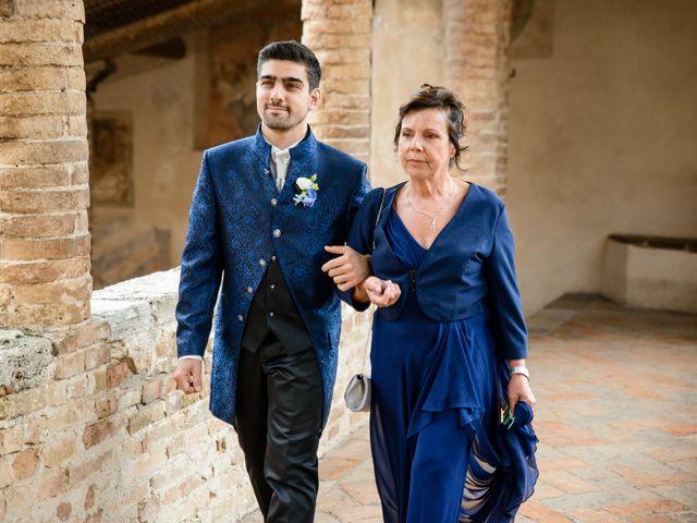 Il matrimonio di Francesco e Victoria a San Gimignano, Siena 33