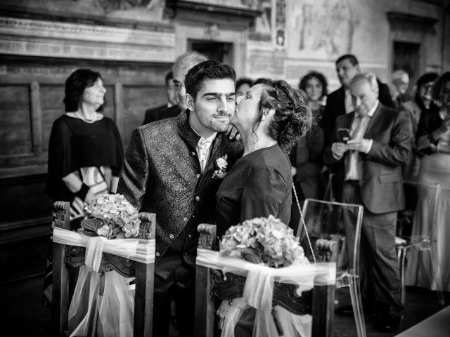 Il matrimonio di Francesco e Victoria a San Gimignano, Siena 35