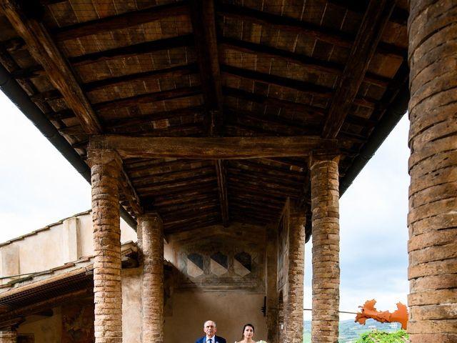 Il matrimonio di Francesco e Victoria a San Gimignano, Siena 39