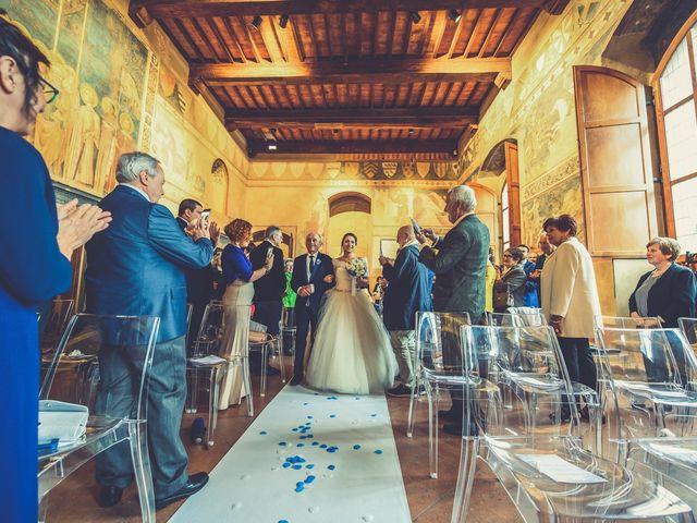 Il matrimonio di Francesco e Victoria a San Gimignano, Siena 41