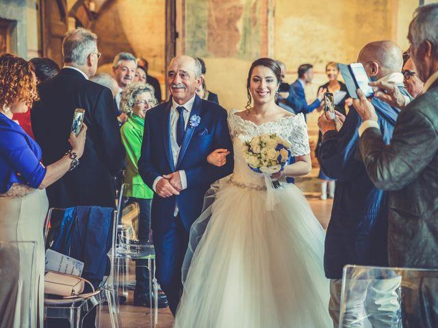 Il matrimonio di Francesco e Victoria a San Gimignano, Siena 42