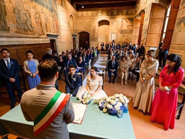 Il matrimonio di Francesco e Victoria a San Gimignano, Siena 44