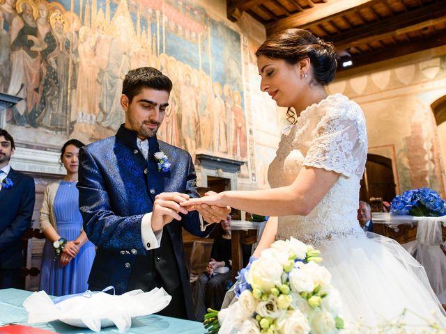 Il matrimonio di Francesco e Victoria a San Gimignano, Siena 47