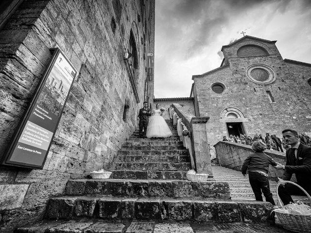 Il matrimonio di Francesco e Victoria a San Gimignano, Siena 52