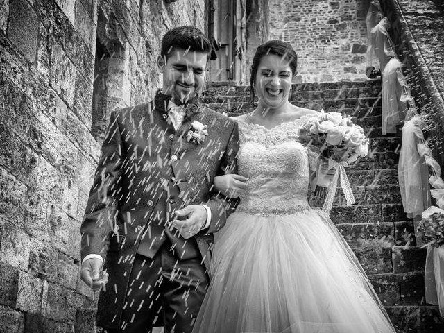 Il matrimonio di Francesco e Victoria a San Gimignano, Siena 53