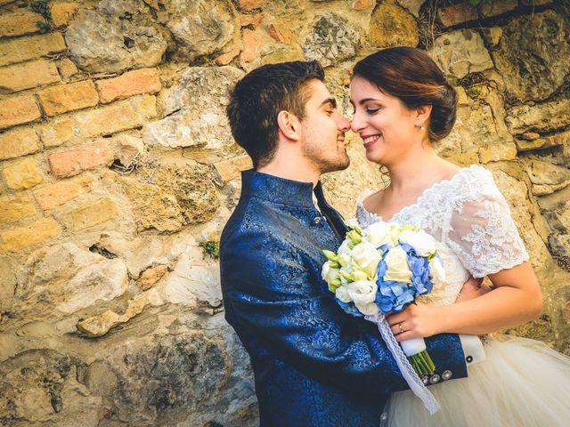 Il matrimonio di Francesco e Victoria a San Gimignano, Siena 57