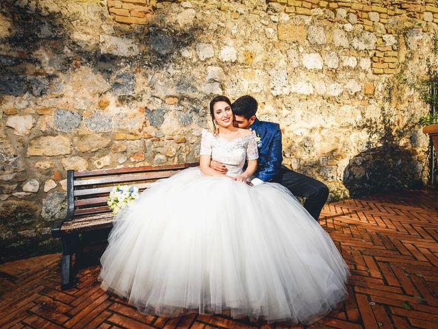 Il matrimonio di Francesco e Victoria a San Gimignano, Siena 58