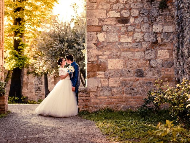 Il matrimonio di Francesco e Victoria a San Gimignano, Siena 59