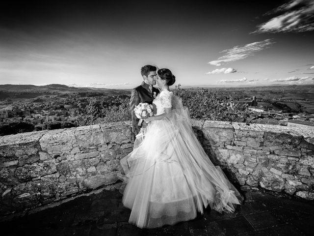 Il matrimonio di Francesco e Victoria a San Gimignano, Siena 62