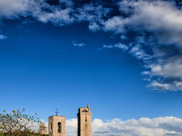 Il matrimonio di Francesco e Victoria a San Gimignano, Siena 63