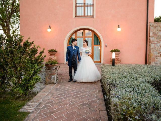 Il matrimonio di Francesco e Victoria a San Gimignano, Siena 69
