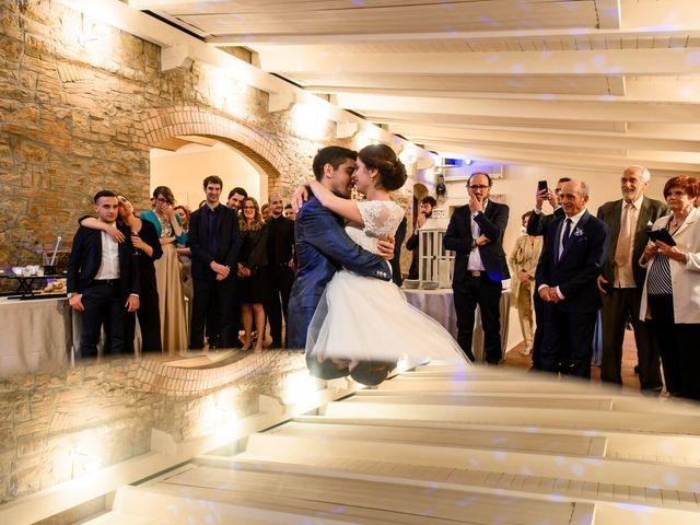 Il matrimonio di Francesco e Victoria a San Gimignano, Siena 73