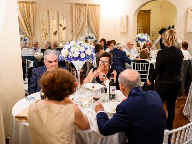 Il matrimonio di Francesco e Victoria a San Gimignano, Siena 76