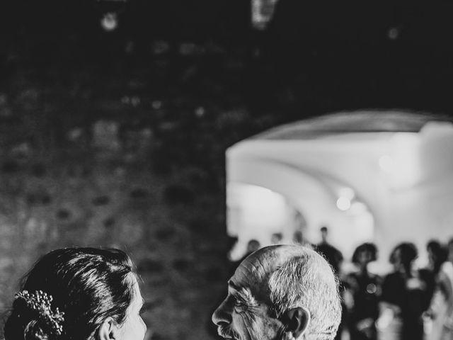 Il matrimonio di Francesco e Victoria a San Gimignano, Siena 80
