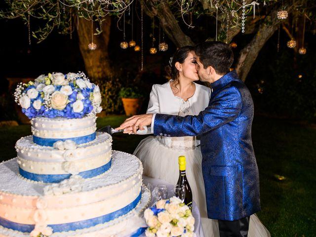 Il matrimonio di Francesco e Victoria a San Gimignano, Siena 86