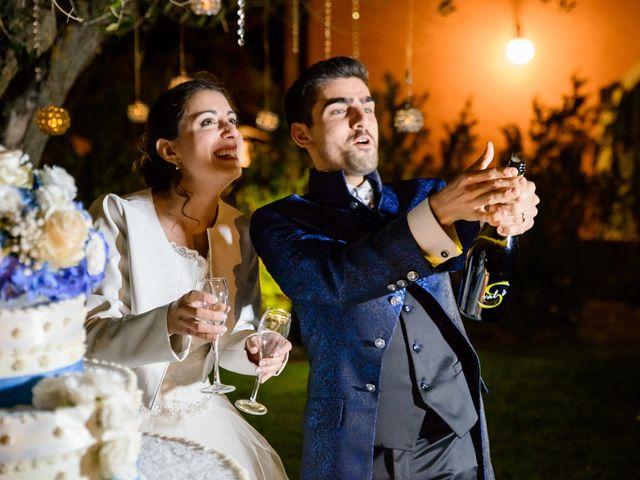 Il matrimonio di Francesco e Victoria a San Gimignano, Siena 87