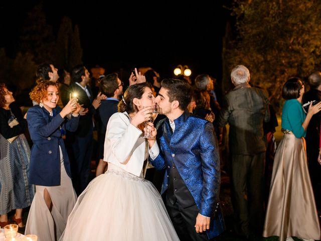 Il matrimonio di Francesco e Victoria a San Gimignano, Siena 90