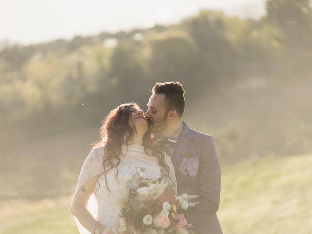 Le nozze di Sandra e Alessio