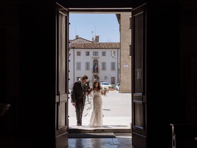 Il matrimonio di Gregory e Cassandra a Valvasone, Pordenone 14
