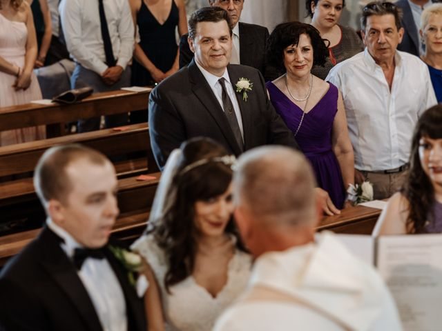 Il matrimonio di Gregory e Cassandra a Valvasone, Pordenone 17